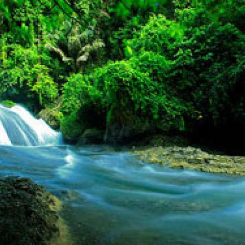 The Bantimurung Waterfall